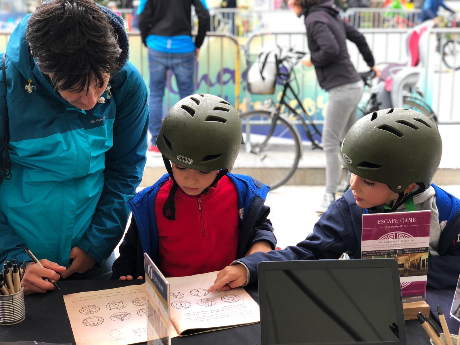 Escape game géant en ville Faites du vélo 2019