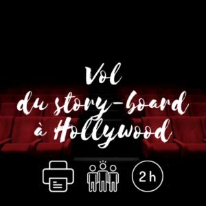 Visuel Vol du story-board à Hollywood