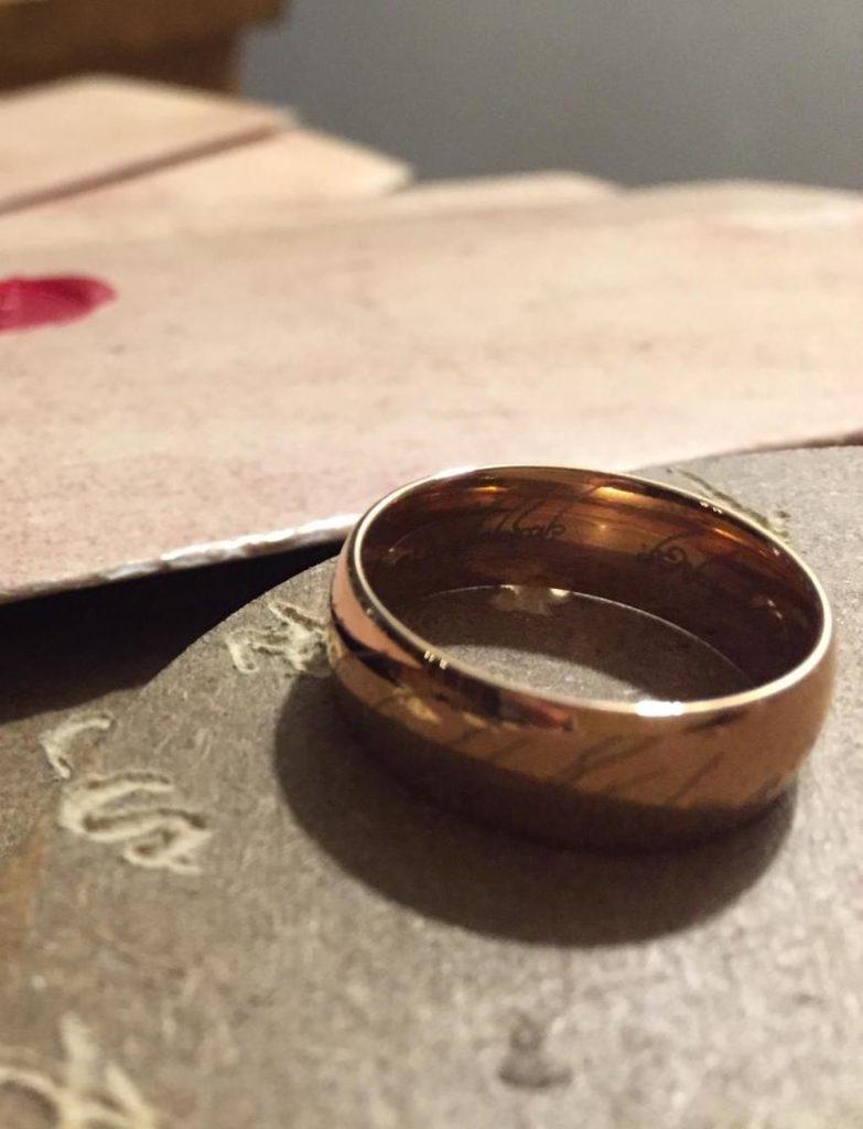 Matériel de jeu elfique, pour fans du Seigneur des anneaux (escape game mariage personnalisé)