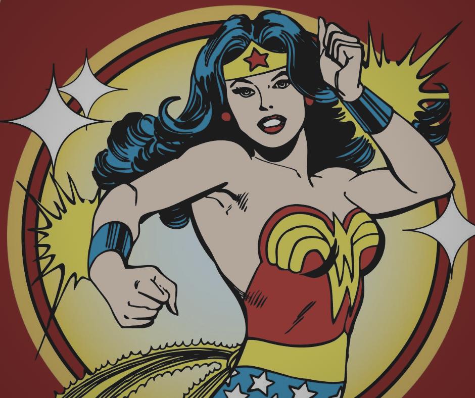 Visuel Je ne suis pas Wonder Woman