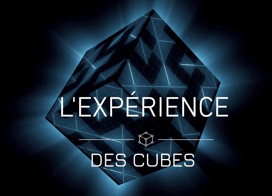 Expérience des cubes chez Challenge the room