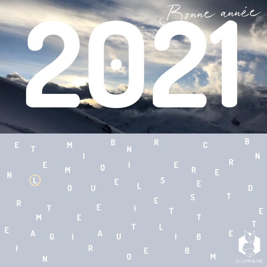 Voeux Le Lapin Blanc 2021