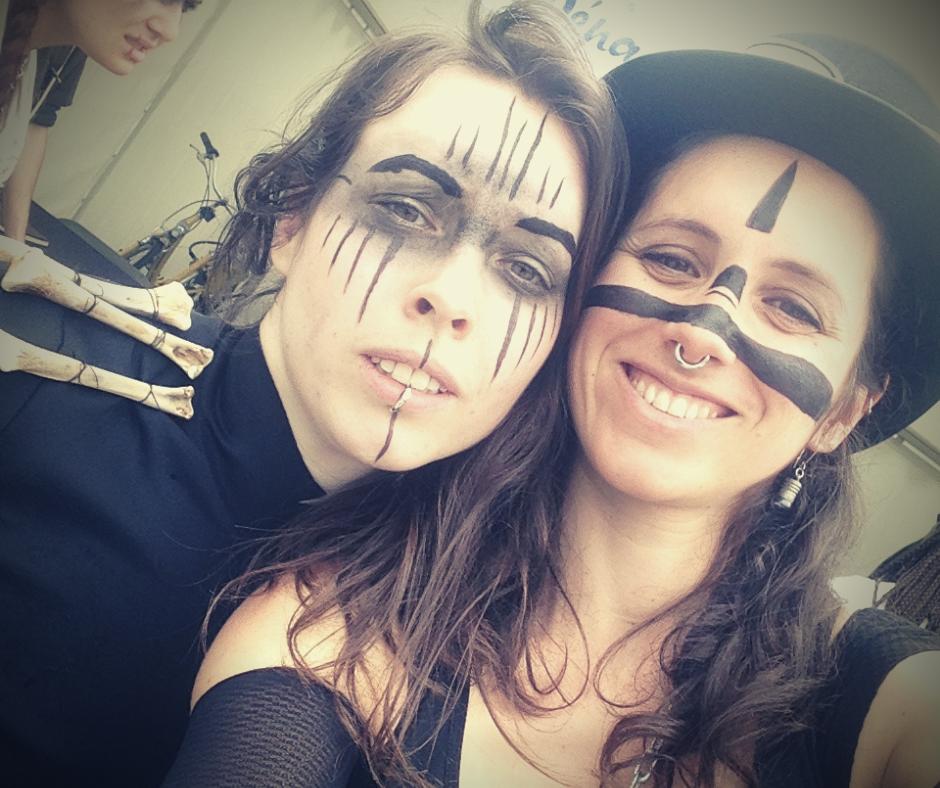 Lise et Cécilia partenaires de création d'escape games - Au fil du dédale & Le Lapin Blanc