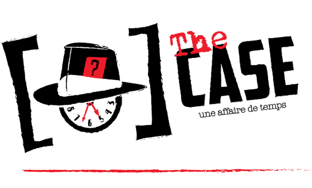 Logo escape game The Case Valence
