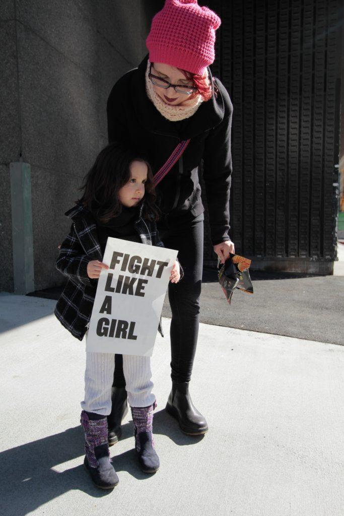 Féminisme - Fight like a girl © Rochelle Brown - Unsplash