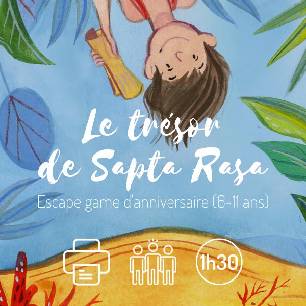 Le trésor de Sapta Rasa - Escape game anniversaire enfants