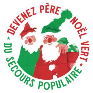 Opération Père Noël vert du Secours Populaire Français